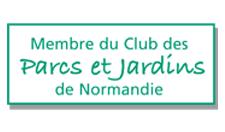 Logo association Parcs et Jardins de Normandie